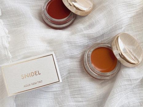 【石けんオフOK!】snidel beautyアクアジェムティント新色で晩夏を思わせる深みのある大人メイクを。