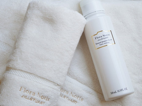 洗うたびに繊細な香りが広がる! フローラノーティス ジルスチュアートから、柔軟剤&タオルが新登場