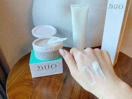 使い心地抜群!スキンケア成分で肌を守りながら洗う🌿 『DUO バリア 洗顔&バーム』