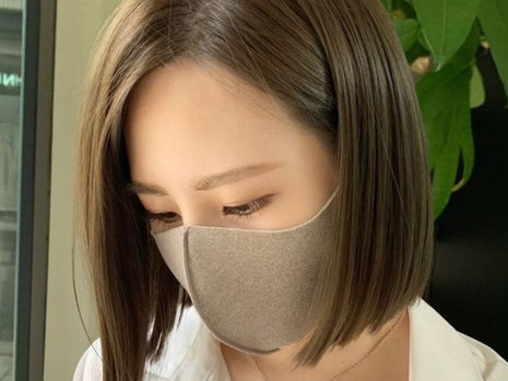 """【30代・40代】マスク映え! 赤みレスなおしゃれヘアカラー""""オリーブグレージュ"""""""