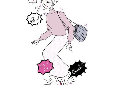 ズキズキ痛みを感じたら要注意! 【外反母趾】の原因と正しい対策