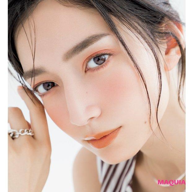 林 由香里さんが提案する大人のための赤みメイク【プチプラコスメで「今なりたい顔」】_1