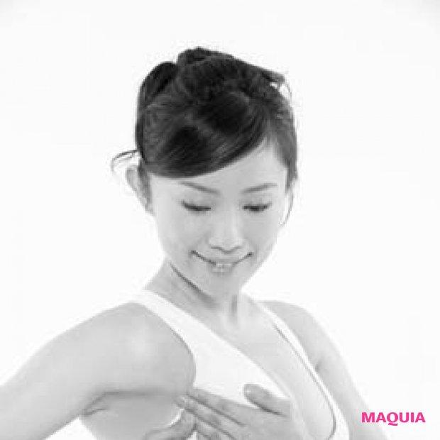 【美バストをつくる乳トレ講座】痛いのは効いている証拠です!