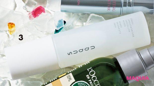 フレッシュシトラスの香りでキリッと清々しい仕上がり。ポア クレンジング セラム 50ml ¥4400/SUQQU(4/2発売)