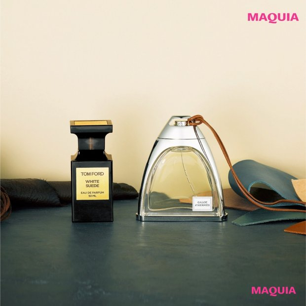 ワイルドなレザーの香りとフェミニンさのギャップで色気をまとう、おしゃれ感度をあげるならこの香り!