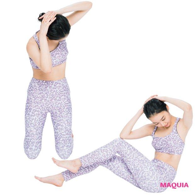 肋骨キュッで美くびれ出現! 腹筋の中でもくびれを作る筋肉を意識すれば速攻スタイルアップ_1