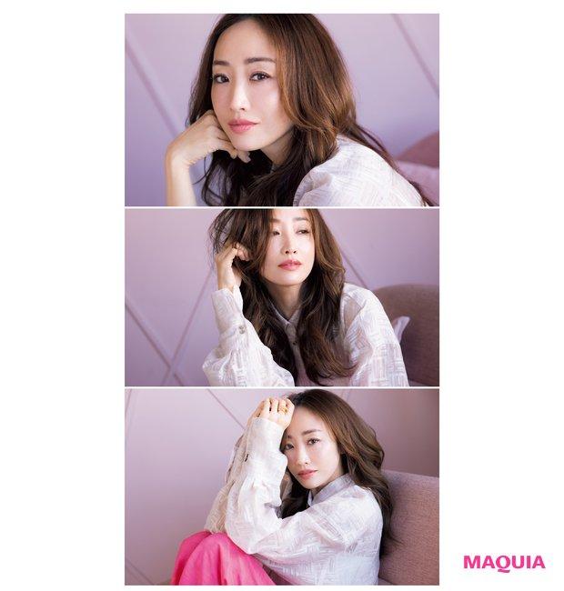 神崎さんの本命はピンク♡ 春色を今っぽく美人に取り入れるテクを公開!_2