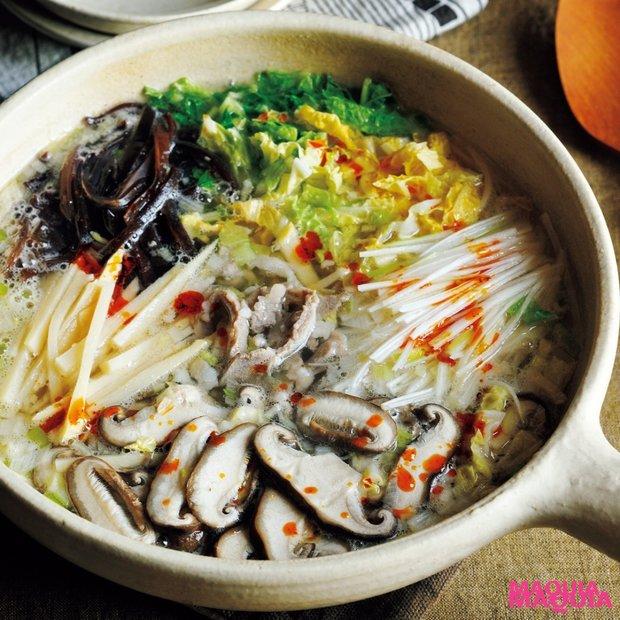冬のごちそう温活レシピ【具だくさん中華鍋&コラーゲンたっぷりワンタン鍋】