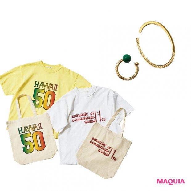 イヤカフ、Tシャツ、サンダル♡ この夏絶対ほしいファッションアイテムはコレ!