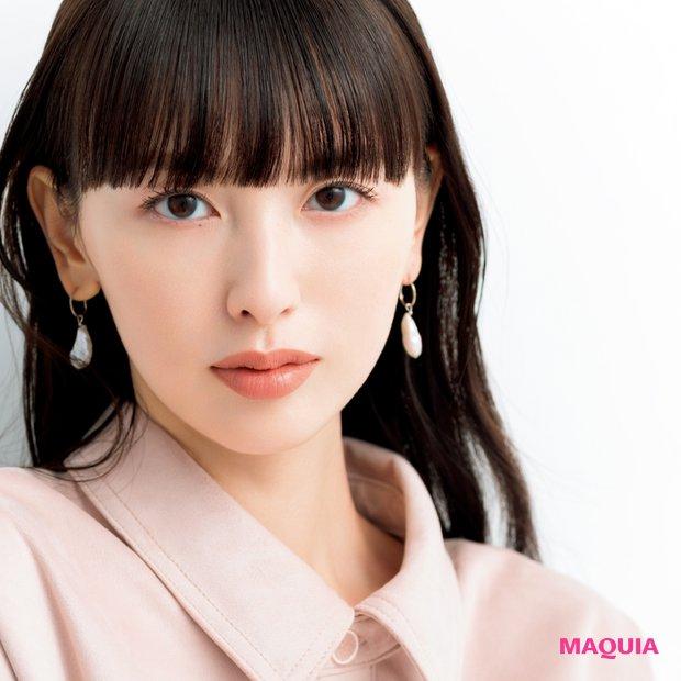 白肌を活かすなら透けマットが新鮮! 松井里加さんの個性を引き立てる肌づくり