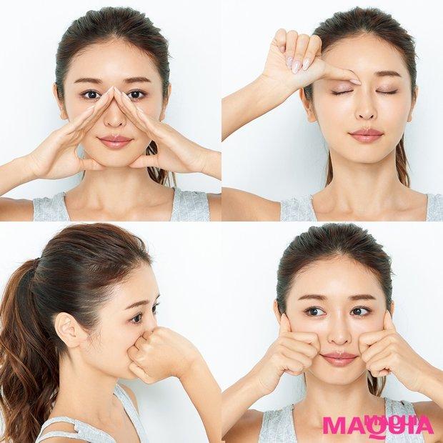 小顔マッサージでパーツ悩みを解消! 目を大きくしたい、ほうれい線を消したいetc.