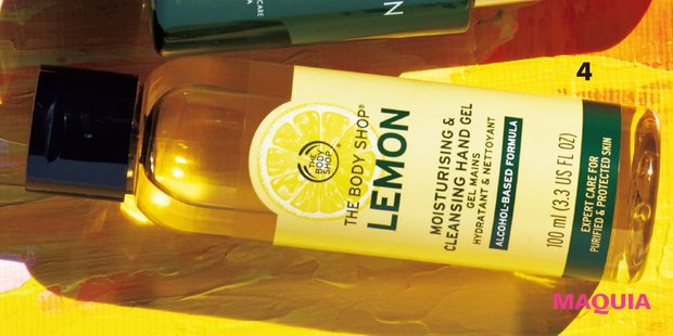 クリーンハンドジェル レモン 100ml ¥1100/ザボディショップ