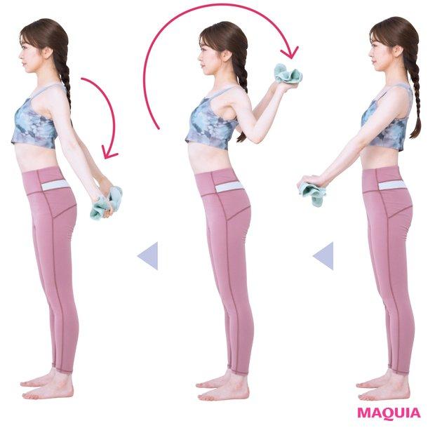 姿勢改善に効果がある猫背のひと用肩甲骨周りストレッチ