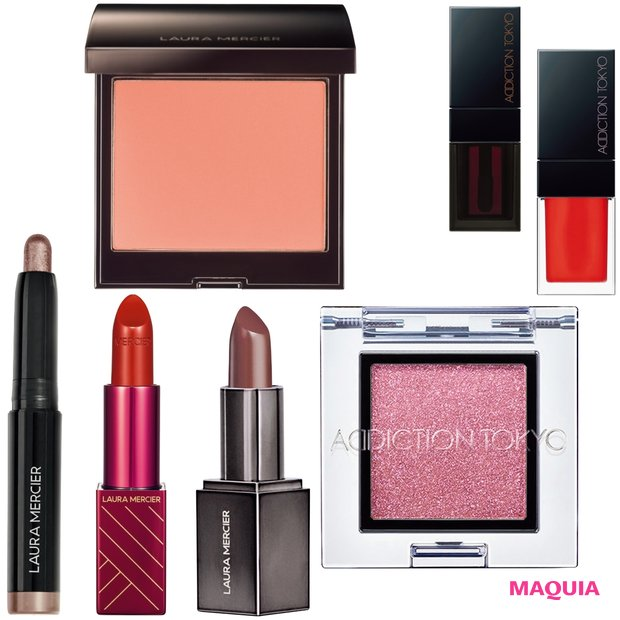 人気ブランドの春新色をチェック! なじみ色の「ローラ メルシエ」、みずみずしい「アディクション」
