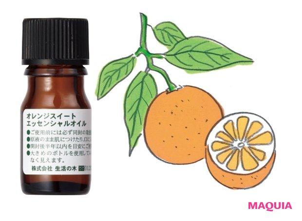 オレンジスイート精油 3mL ¥660/生活の木