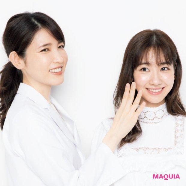 ゆきりんの肌改善メニューを友利先生、石井美保さんが提案!