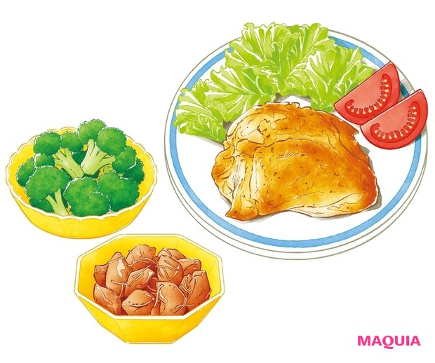 食事で美肌力を底上げ! 気を付けること、選び方、意識して摂りたい栄養度など、美肌をつくる食事Q&Aをチェック_1