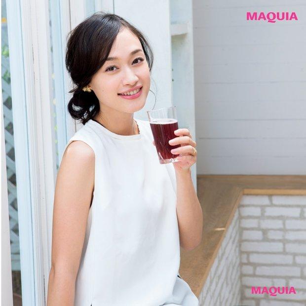 モデル田中マヤさん発・ため込まない美容法&夕方の老け顔一掃テク!