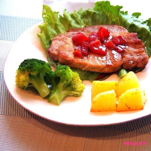 夏バテにお酢&豚肉!彼に作ってあげたいスタミナおかず「ポーク酢テーキ」☆