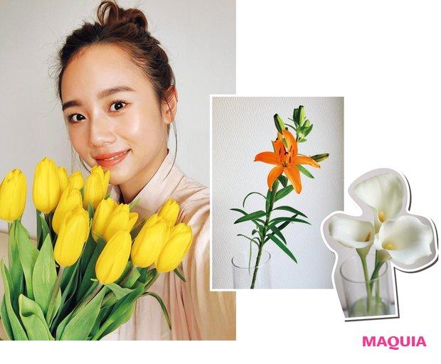 お洒落な花を飾って心もデトックス