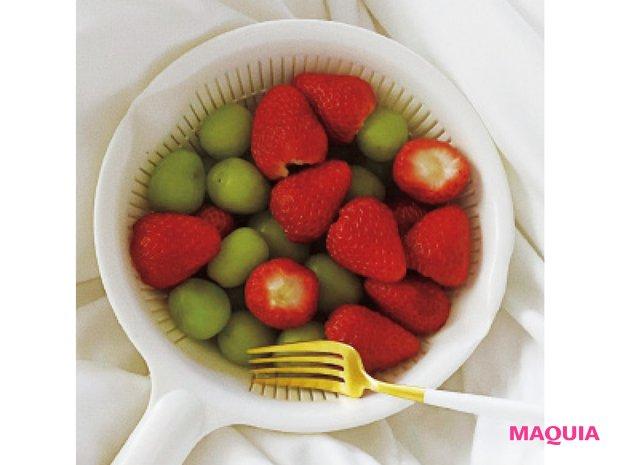 イチゴとマスカットのイメージ
