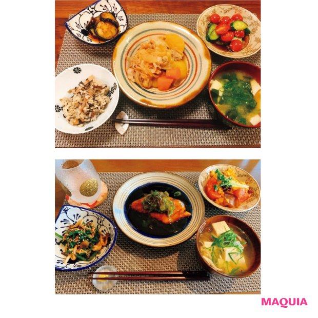 料理は和食が中心ですが、洋食や中華も作ります