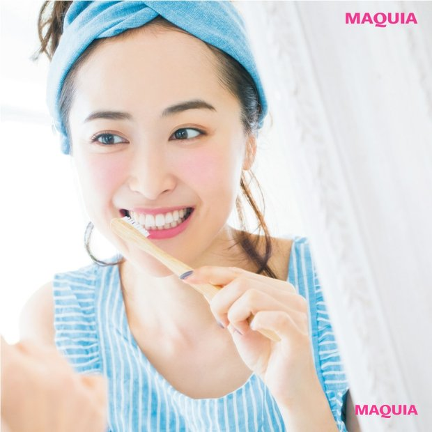 正しい歯の磨き方をレクチャー「正しいオーラルケアで、口内フローラを整えよう」