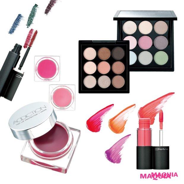 美発色×トレンド感を求めるなら絶対マーク! M・A・CとADDICTIONのサマーコレクション