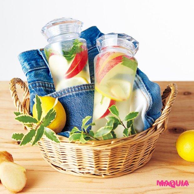 夏太りする前に☆ デトックスウォーターの食べすぎ防止&便秘解消レシピ
