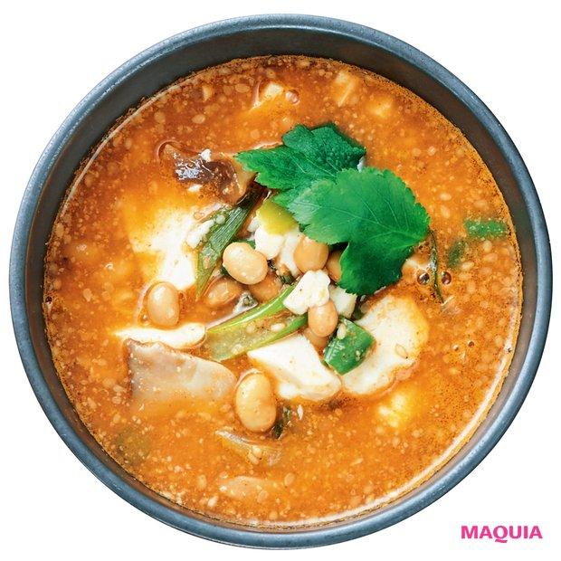 納豆チゲスープ