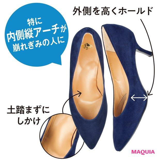 細めヒール パンプス ¥25000/NT
