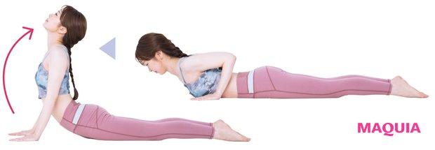 姿勢改善に効果がある反り腰のひと用お腹周りストレッチ