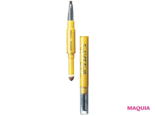 エクセル パウダー&ペンシル アイブロウEX PD01 ¥1450/2012年発売/常盤薬品工業