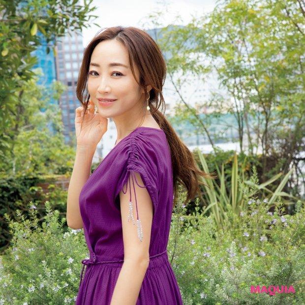 神崎 恵流サマードレスの着こなし方♡ メイクの決め手はベージュリップ