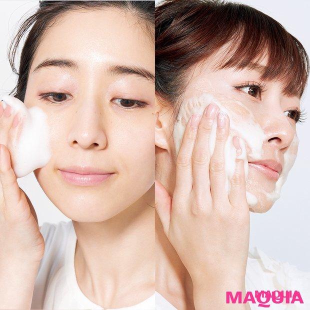 田中みな実×石井美保の洗顔方法は? うるおい肌の秘訣は、脂分を落としすぎないこと
