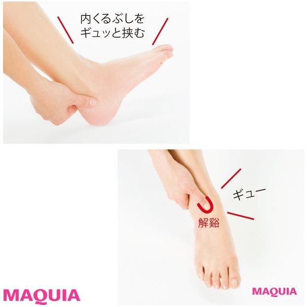華奢な足首に! 話題の美脚トレーナー・久 優子さんが教える4ステップ