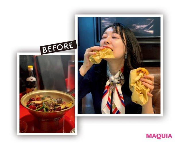 旅行中は食べすぎ、中華も大好き