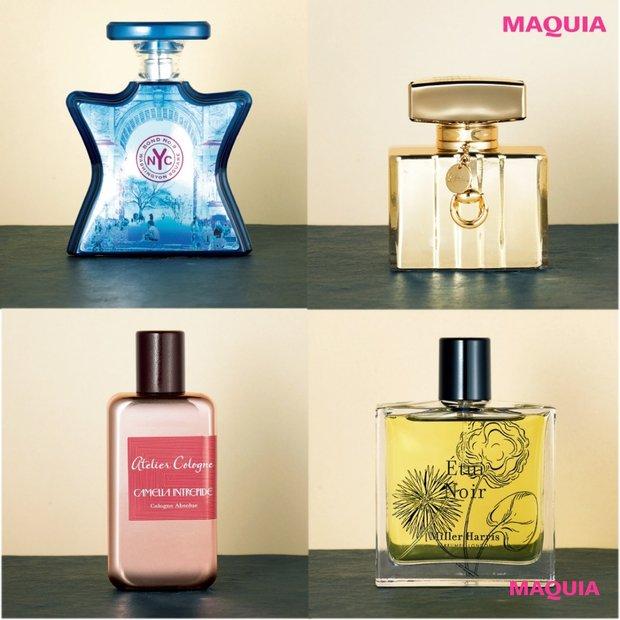 GUCCIやアトリエ・コロンetc...おしゃれ感度を上げる、肌とレザーの香りが溶け合うフレグランス