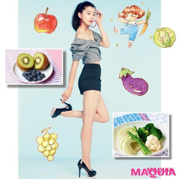 ダイエット時の野菜&果物の食べ方の正解は?  正しいルールを伝授!