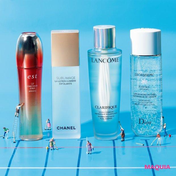 くすみを一掃する化粧水4選! 美プロの効かせワザつき_1