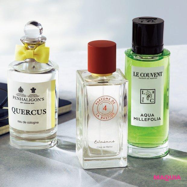 私に寄り添う香りはどれ? 心に効く精油と香水の選び方をナビゲート!