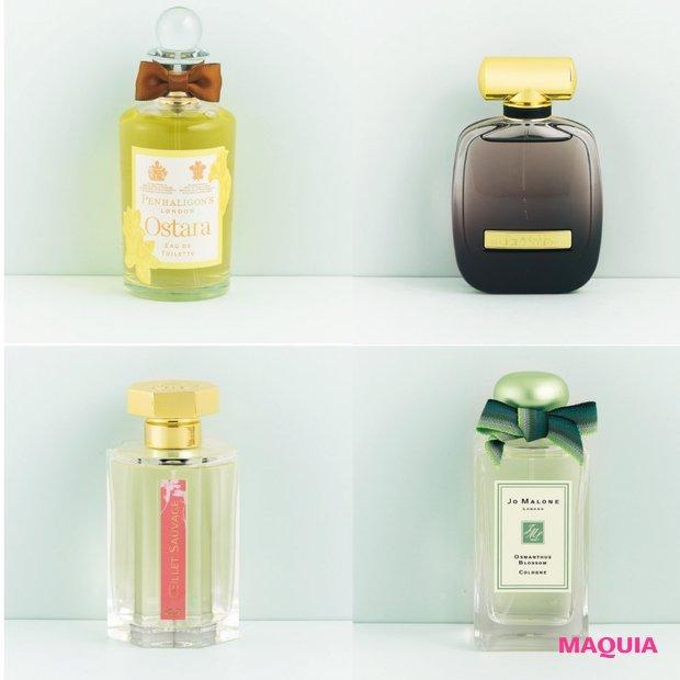透明感のあるフローラル系の香りで、初夏の空気を軽やかに♪