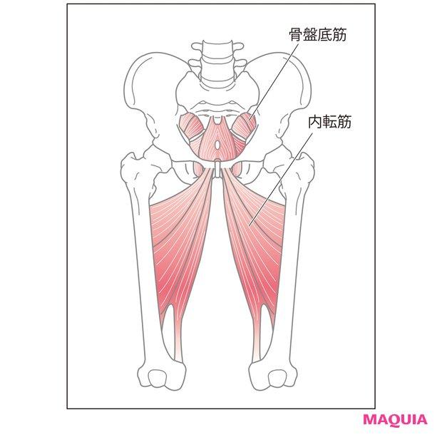 骨盤底筋トレーニング ストレッチ2