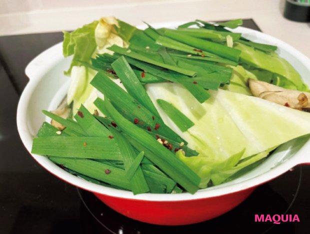 寒い日の定番 野菜たっぷりお鍋♡