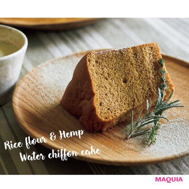 口の中でふわんっととける♡ たんぱく質豊富な「ウォーターシフォンケーキ」の作り方