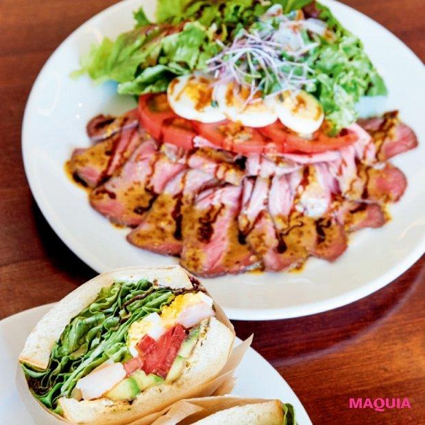 """スーパーフードに野菜…キレイの素が""""ギュッ""""と詰まったサンドイッチ専門店"""