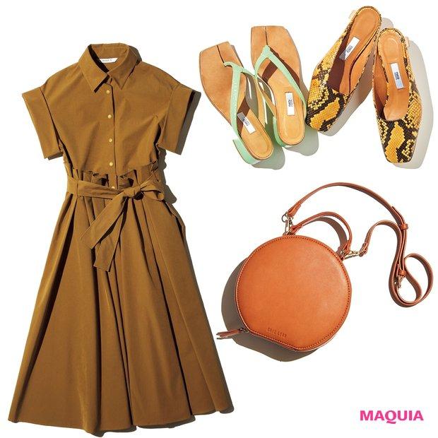 映えサンダル、撥水ワンピ etc.… 夏を満喫するためのファッションアイテムをお届け!