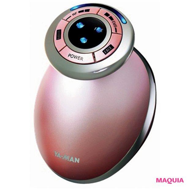 EMS、超音波とラジオ波を出し、肌を温める独自の技術。キャビスパ RF コア ¥34000/ヤーマン