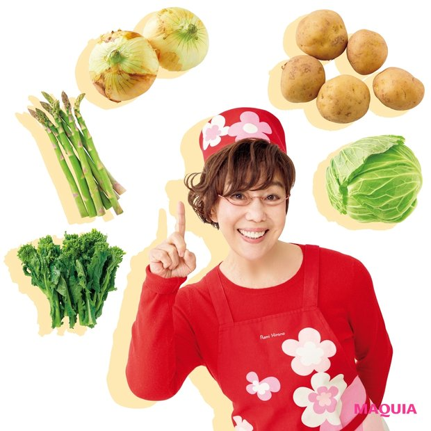 料理が楽しくなるコツも! 平野レミさんが春野菜でポジティブクッキング♪