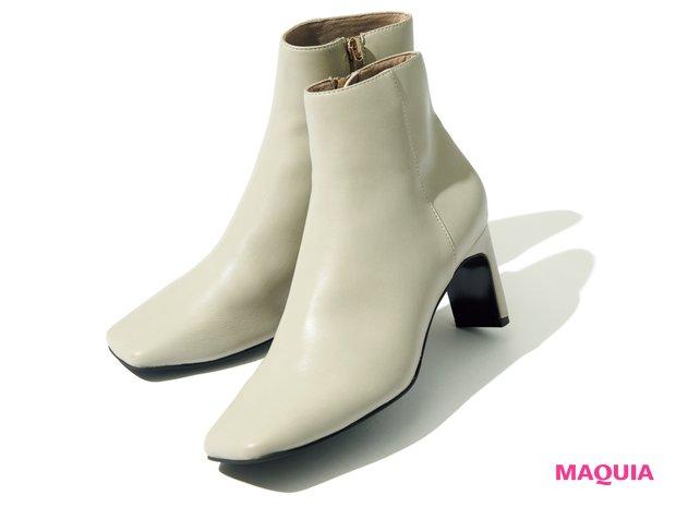 ホワイトショートブーツ(H7cm)¥14000/ル タロン グリーズ ルミネ新宿店(ル タロン)